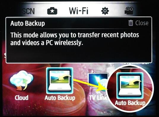 samsung backup software - pc auto backup