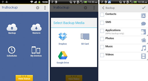 android backup app trubackup