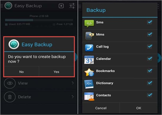 android backup app easy backup restore