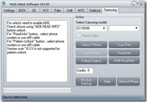 Samsung mobile unlocker software download.