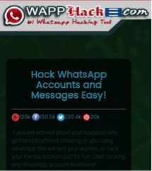 اختراق حساب WhatsApp