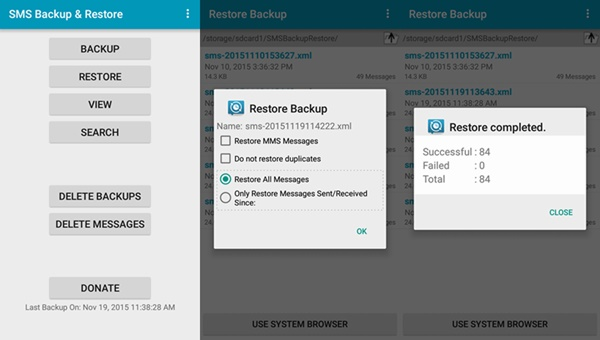 backup and restore android to pc