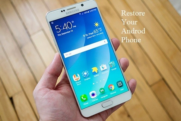 restore your android phone