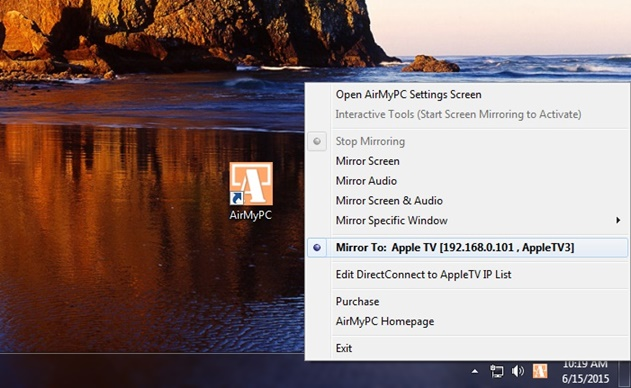 ¿Cómo usar AirPlay en Windows?