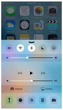 Den iPad-Bildschirm über Funk aufzeichnen