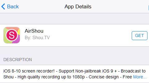 Den iPad-Bildschirm ohne einen Computer aufzeichnen
