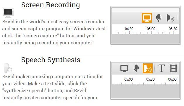 best desktop recording software - Ezvid Video Maker