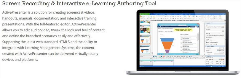 free desktop recording software - ActivePresenter