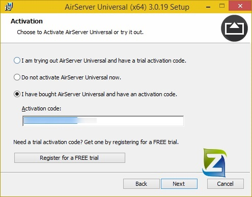 airserver windows 7 activation code