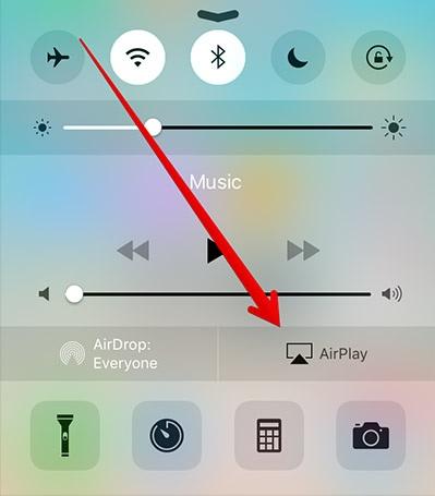 airserver delen van iphone scherm