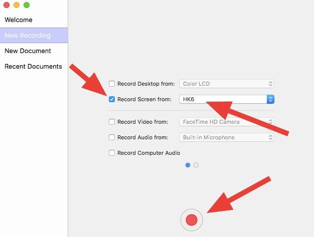 Gratis screen recorder for iPad - ScreenFlow