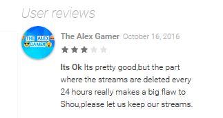shou user review