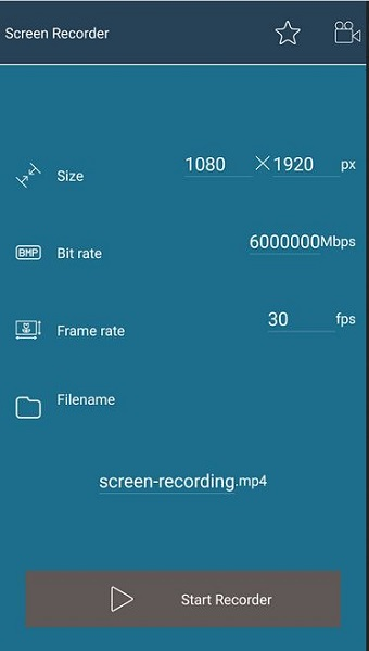 scherm video recorder app