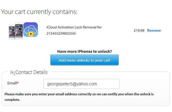 iCloud Activation Lock bypass