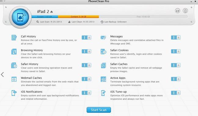 iPad Datenlöschsoftware