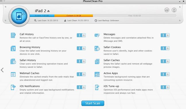 iPad Data Erase Software