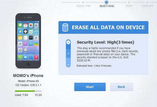 Apowersoft iPhone Data Cleaner