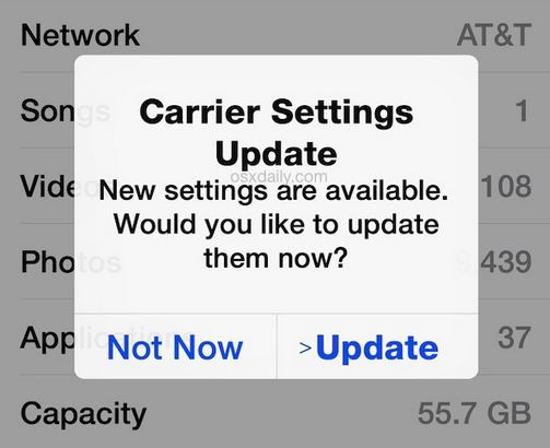 carrier update iphone three ways to fix iphone voicemail not working issue dr fone 10340
