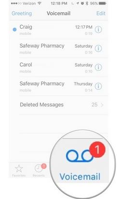 Save Voicemails from iPhone as a note