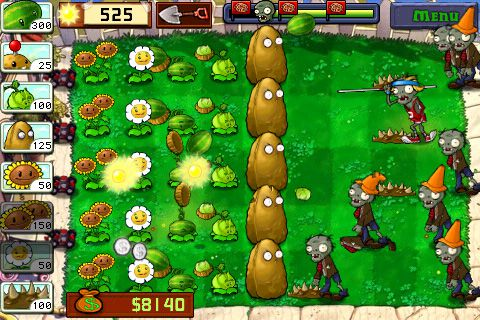 Plants vs. Zombies Best iPhone Games