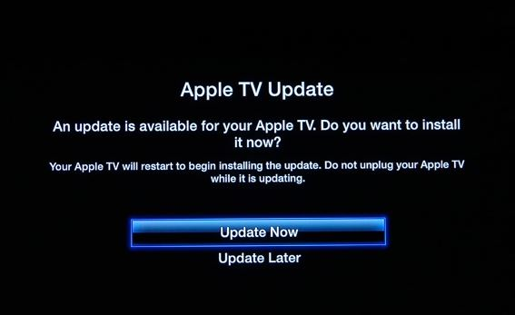 update apple tv to fix AirPlay not showing