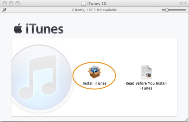 Finalizar descarga de itunes