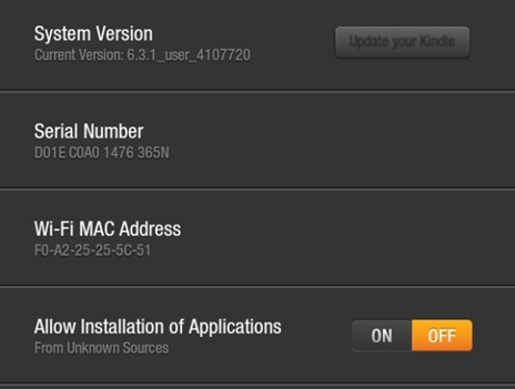 allow installation of application
