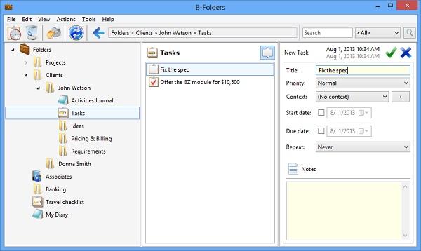b folders 4