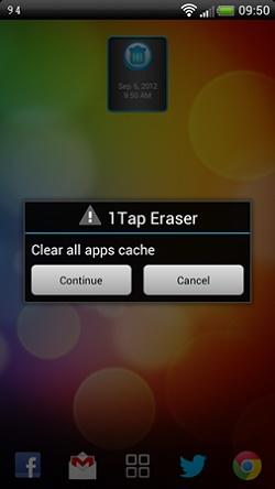1 tap eraser