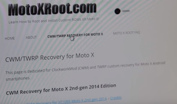root moto x with fastboot