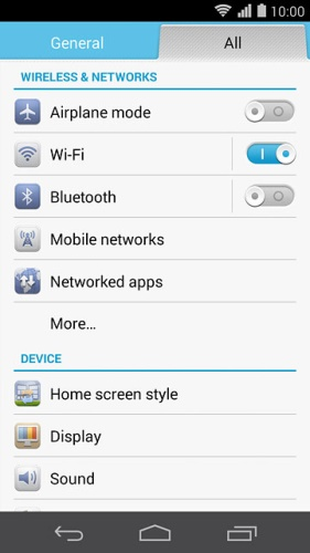 set huawei phone as hotspot