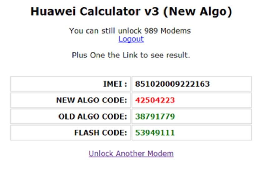 unlock huawei e303 moderm