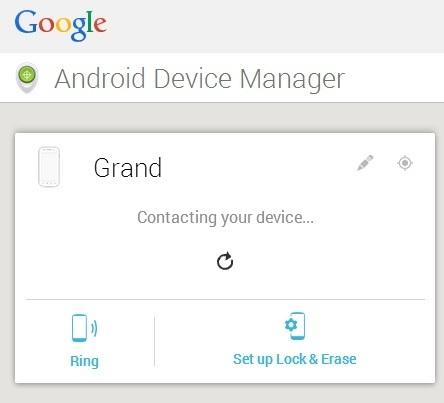 Gerenciador de Dispositivos Android para proteger dados pessoais