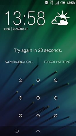 remove htc lock screen