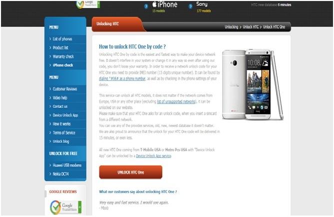 4 Ways to SIM Unlock HTC One Phones