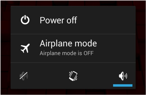 force restart android when its frozen
