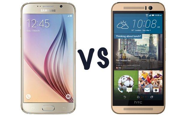 htc one m9 vs galaxy s6