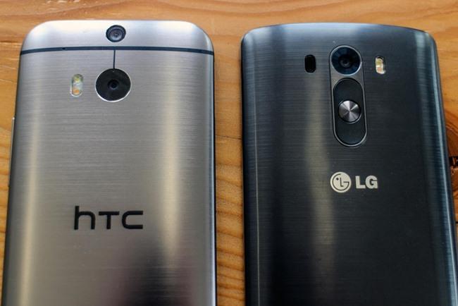 htc m8 vs lg g3 bateria