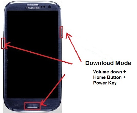 root sm n9005 - enter download mode