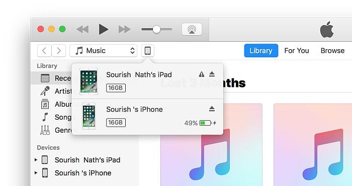 start to Downgrade iOS 10.3 to iOS 10.2