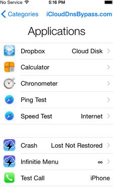 evitar el Bloqueo de iCloud en iOS 10.3/10.2/10.1/10