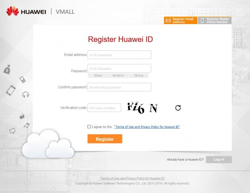 root huawei g8 - log in huawei id