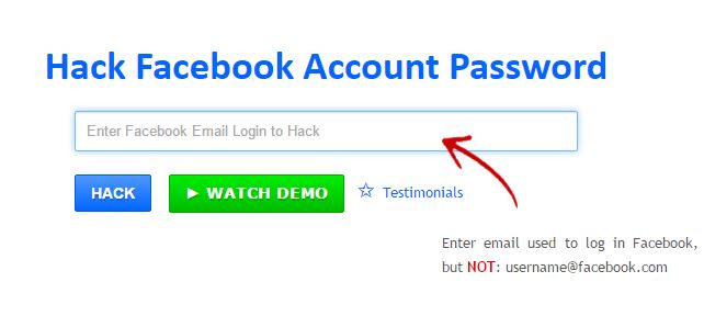Hack Facebook messages free