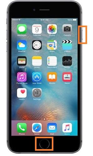 soft reset iPhone 6/6 Plus
