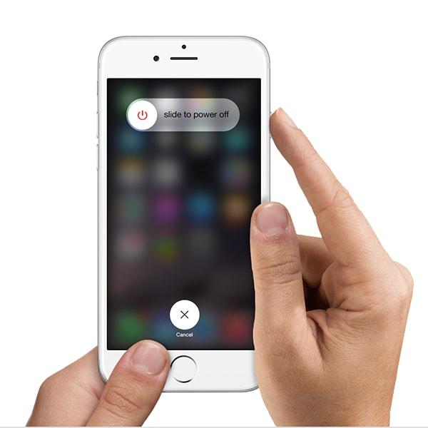 restart iphone 6s