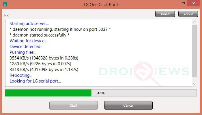 How to Root LG Devices with LG One Click Root Script?