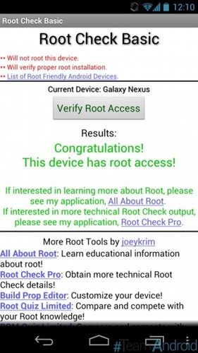root lg g3 beat - phone root status