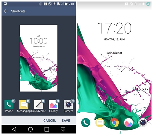 customize lg g4 lock screen