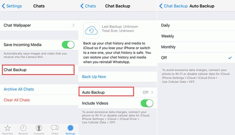 how to fix whatsapp not workiing on iphone-turn-off-whatsapp-auto-backup