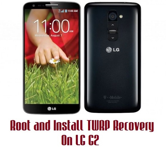 root G2 and install TWRP